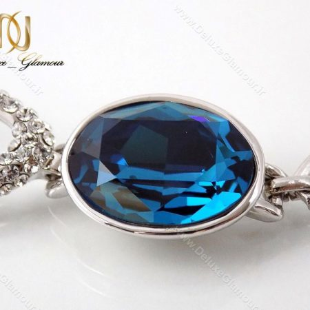 دستبند دخترانه لوکس کلیو با المان های سواروسکی cl-194-D از نزدیک