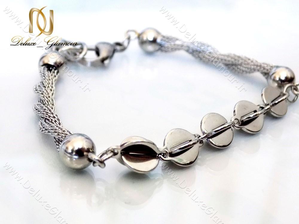 دستبند استیل دخترانه زنجیری مدل c2