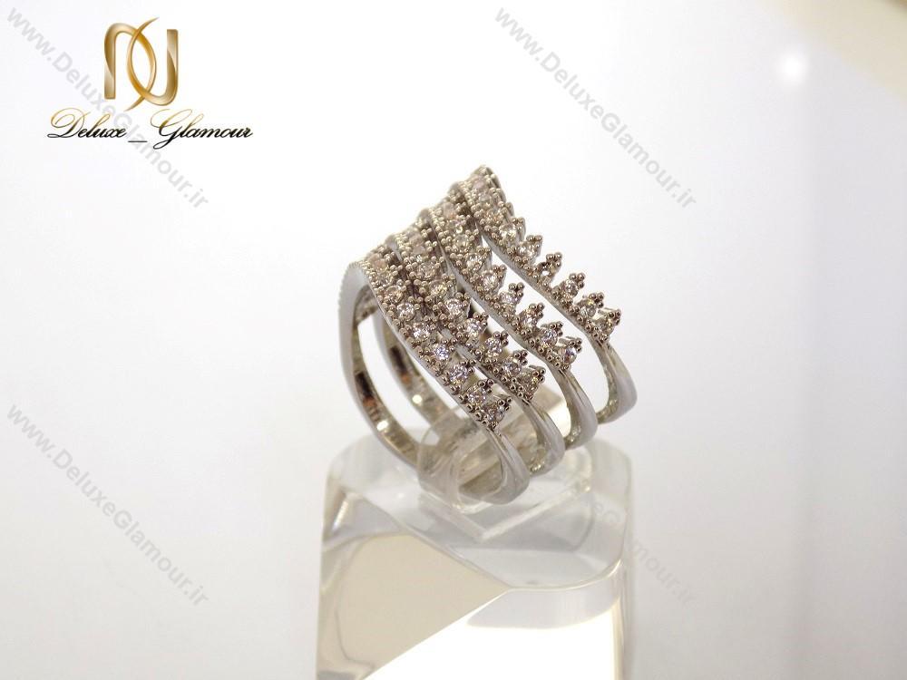 انگشتر زنانه Clio کلیو 4رج با کریستال های سواروسکی rg-n122