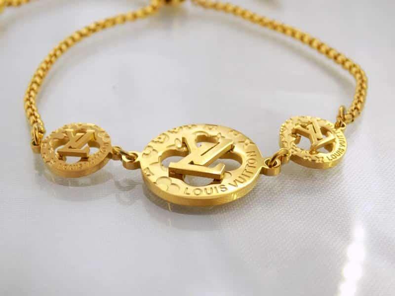 دستبند دخترانه مارشالی Louis Vuitton کد ds-126