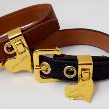 دستبند چرمی دخترانه