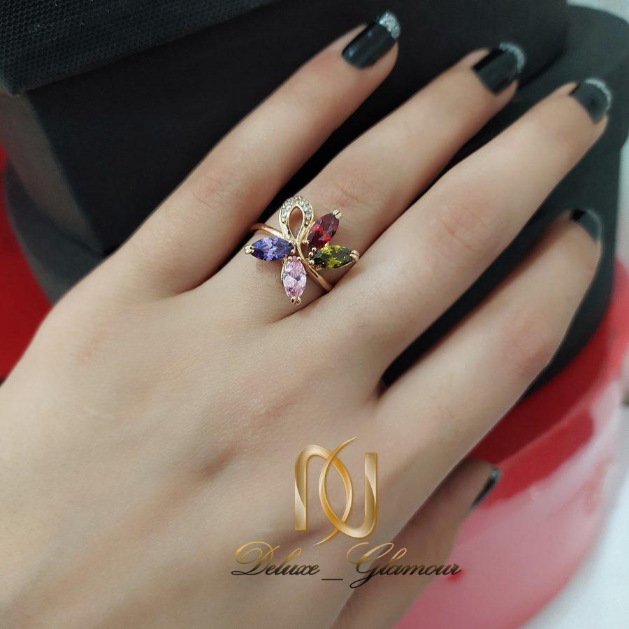 انگشتر دخترانه نگین دار ژوپینگ rg-n135