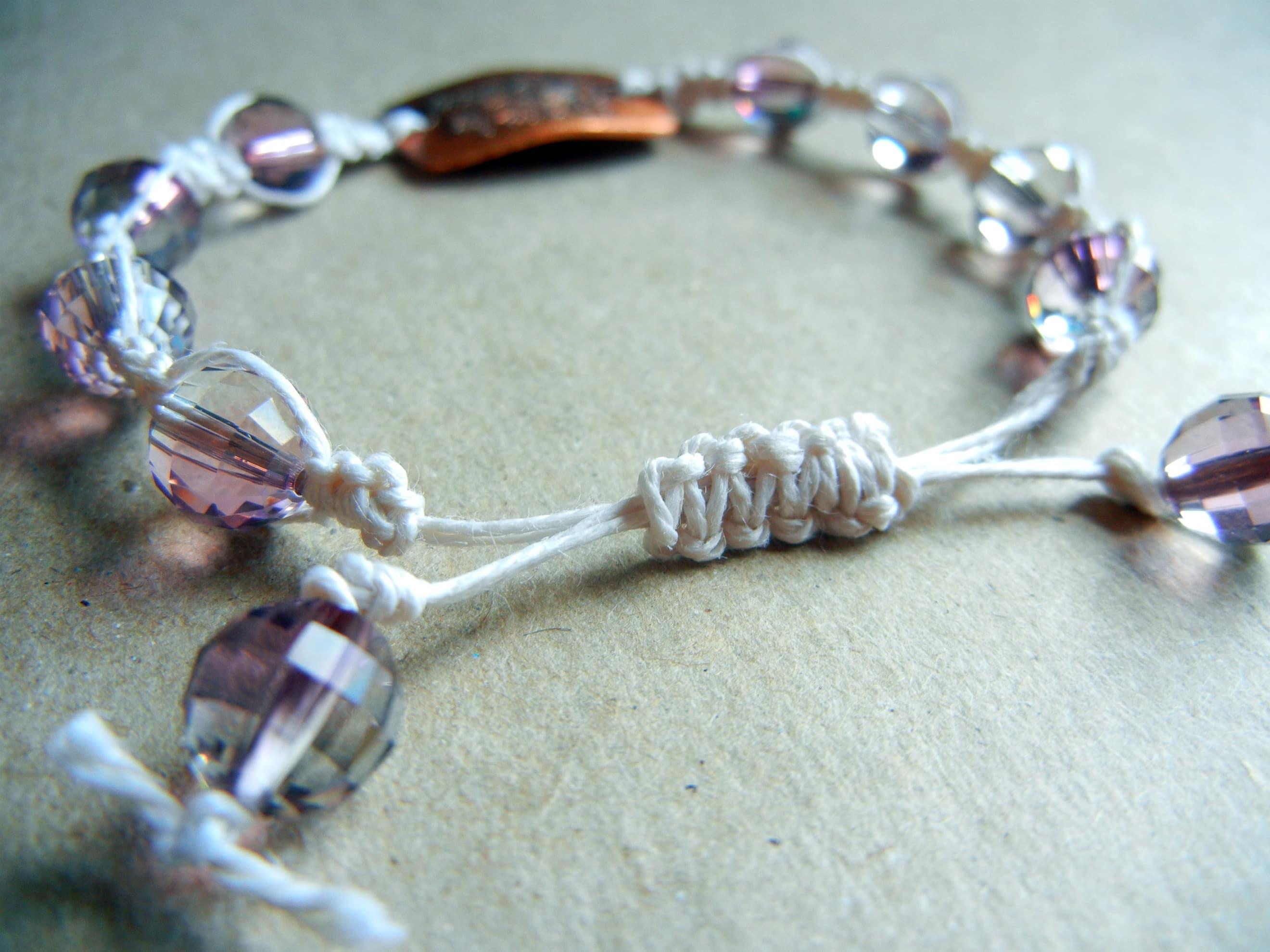Adjustable Bracelet Diy Sliding Knot