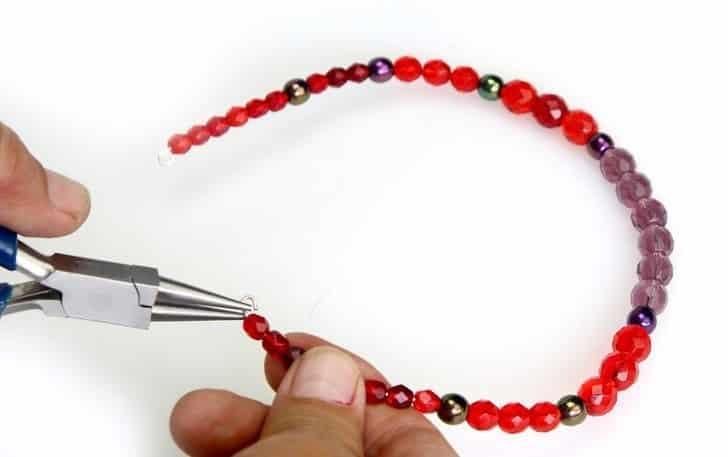 نحوه ساخت دستبند و گردنبند چوکر