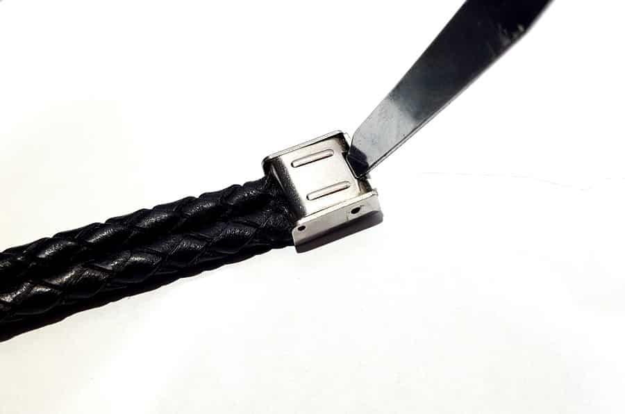 نحوه تغییر سایز دستبند باز کردن ضامن قفل