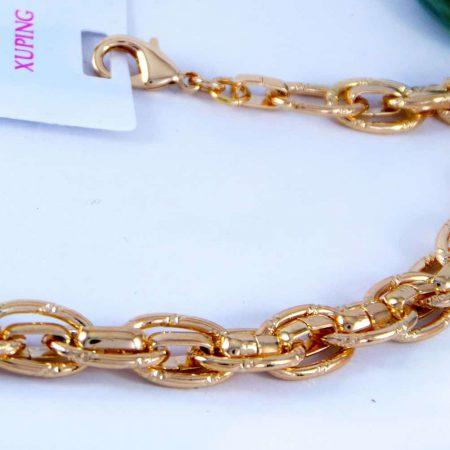دستبند زنانه ژوپینگ طرح کارتیه با روکش آب طلای 18 عیار DS-N160 از نمای کنار