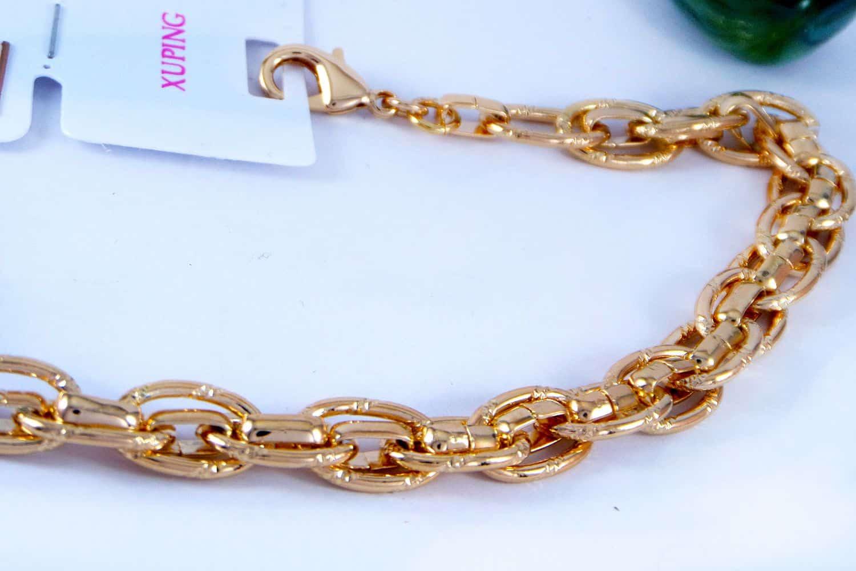 دستبند زنانه ژوپینگ طرح کارتیه با روکش آب طلای 18 عیار DS-N160