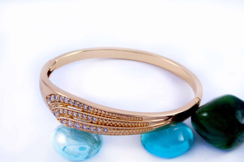 کریستال زیرکنیا دستبند ژوپینگ