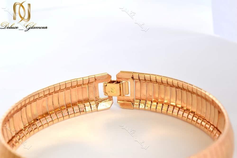 دستبند زنانه رزگلد ژوپینگ طرح ایتالیایی Ds-171