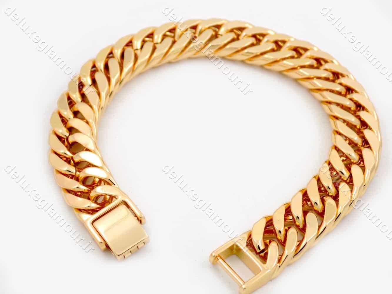 دستبند زنانه ژوپینگ طرح کارتیر با قفل جعبه ای ds-n190
