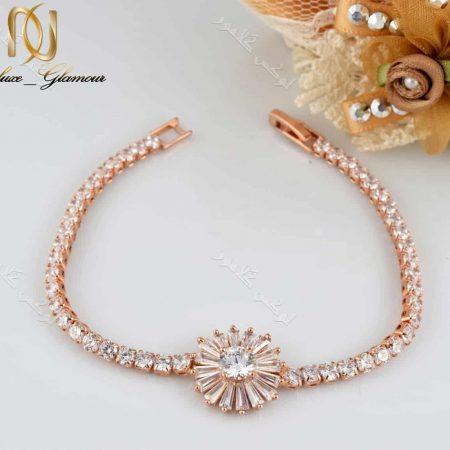 دستبند دخترانه طرح قاصدک کلیو با کریستالهای سواروسکی Ds-n189