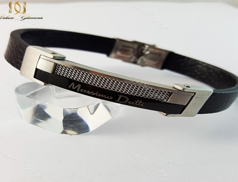 دستبند مردانه چرمی- هدیه ویژه روز معلم
