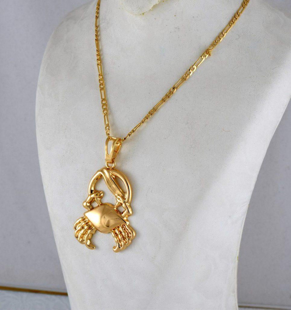 گردنبند دخترانه ماه تولد تیر برند ژوپینگ nw-n200