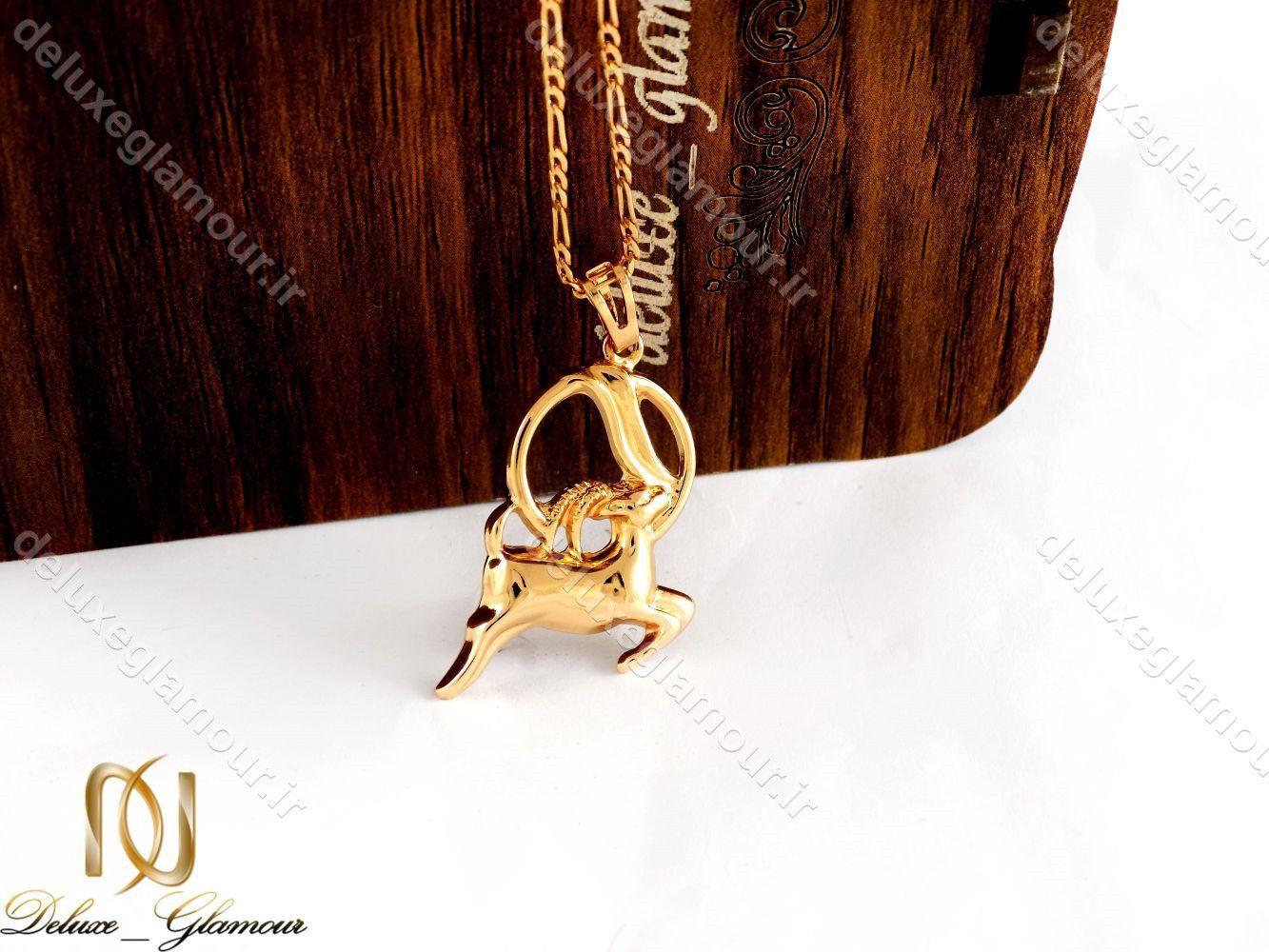 گردنبند دخترانه ژوپینگ ماه تولد دی ماه با نماد بز nw-n197