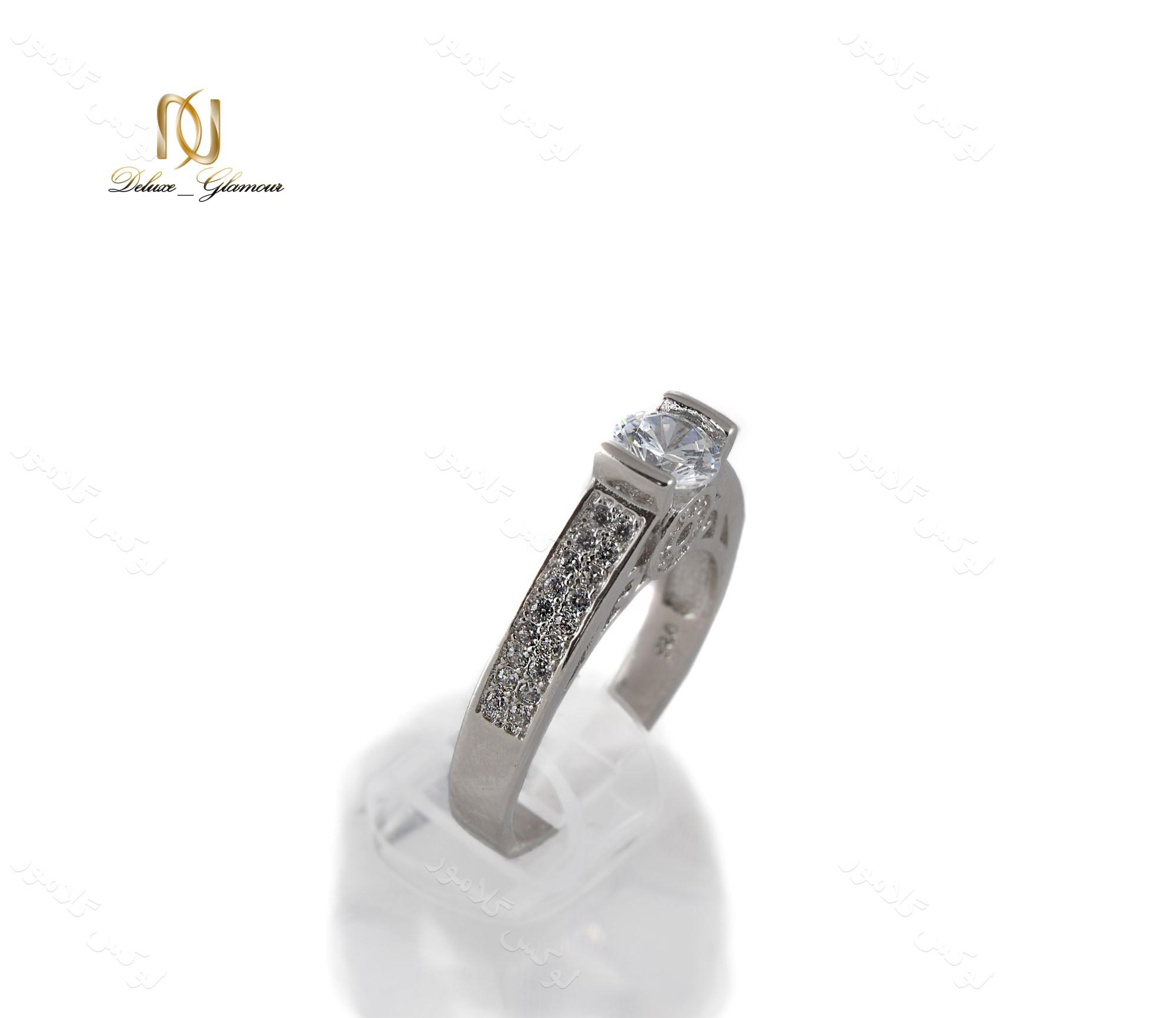 انگشتر نقره زنانه لوکس با تاج سه بعدی Rg-n234 (3)