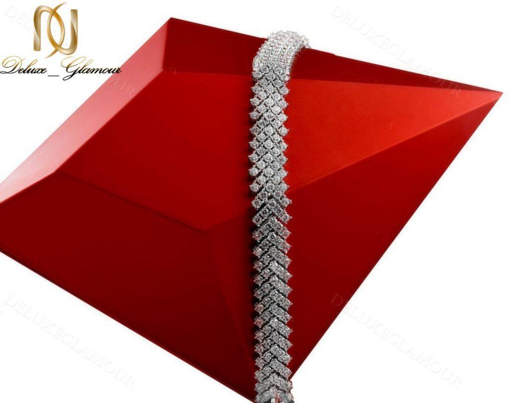 دستبند بند ساعتی نقره زنانه جواهر DS-N220 - عکس اصلی