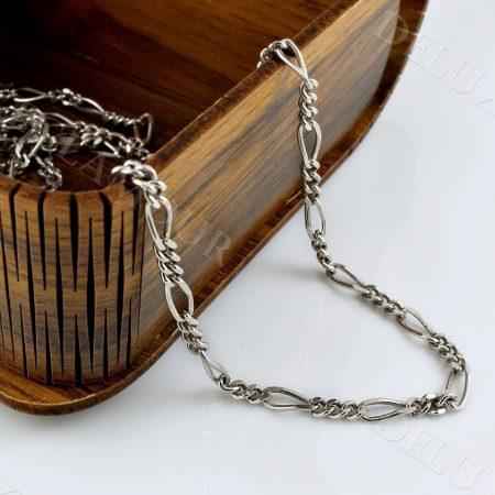 زنجیر مردانه نقره طرح فیگارو Nw-n238