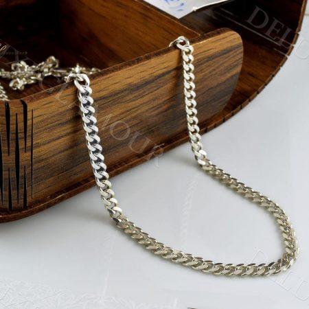زنجیر مردانه نقره طرح کارتیه Nw-n239