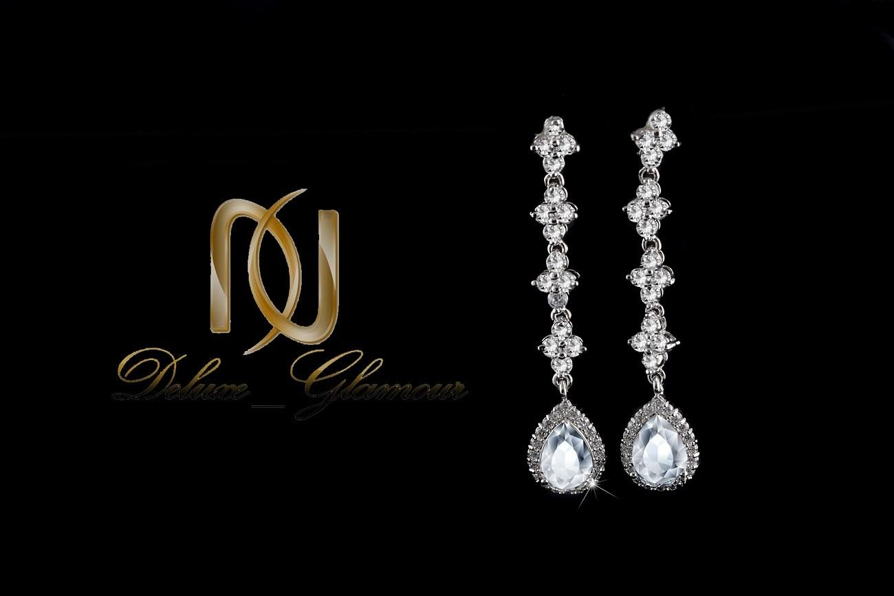 نیم ست جواهري عروس کلیو با کریستالهای سواروسکی Ns-n202 (7)