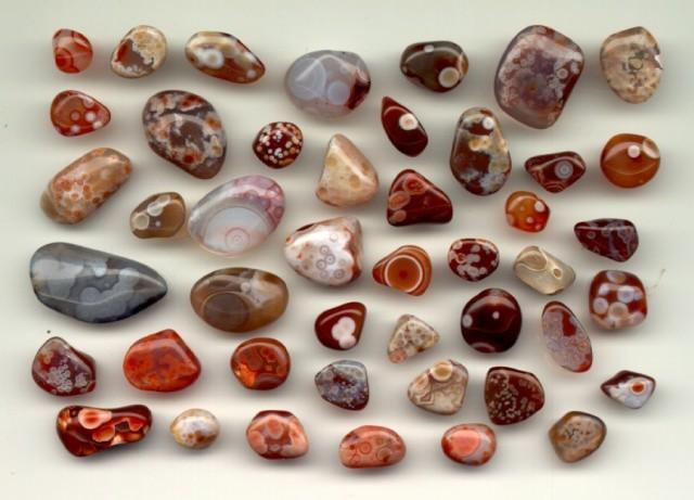 انواع عقیق در لوکس گلامور - انواع سنگ عقیق و نحوه شناسایی عقیق اصل