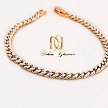 دستبند دخترانه ژوپینگ دو رنگ طرح کارتیر ds-n250