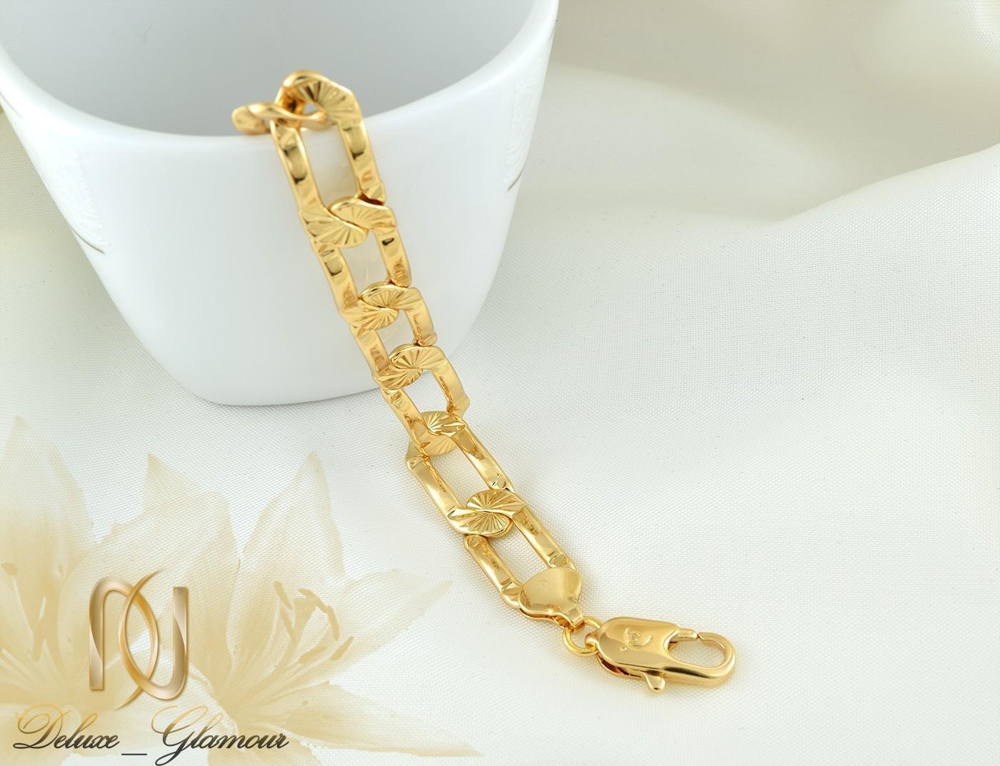 دستبند زنانه ژوپينگ طرح طلاي كارتيه DS-N260 از نماي كنار