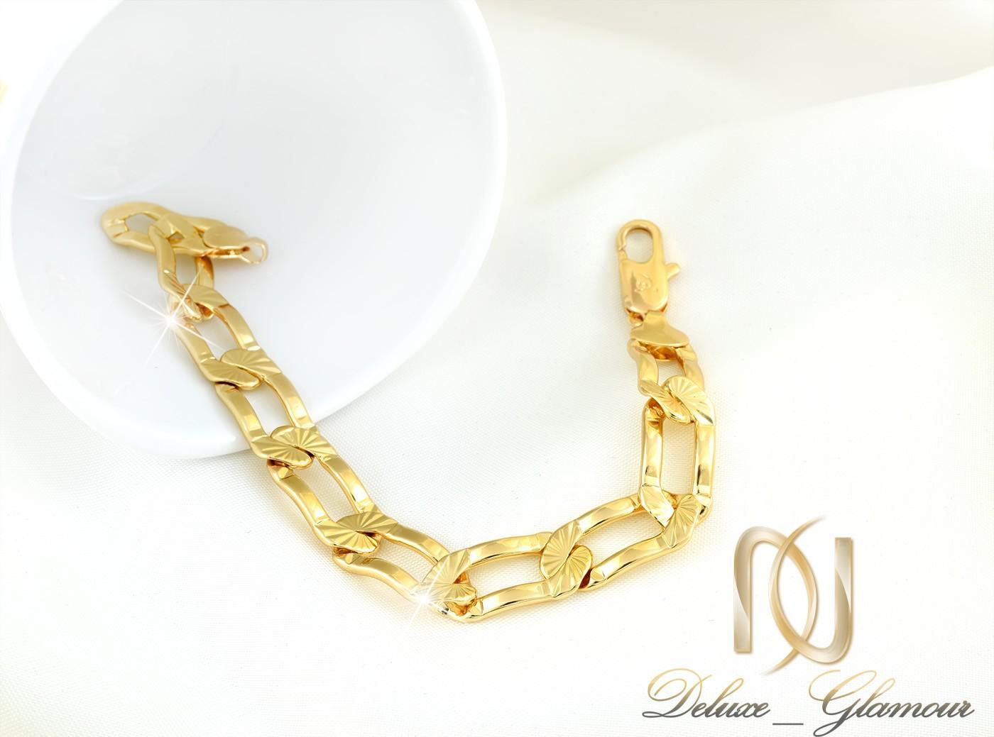 دستبند زنانه ژوپينگ طرح طلاي كارتيه DS-N260 از نماي سفيد