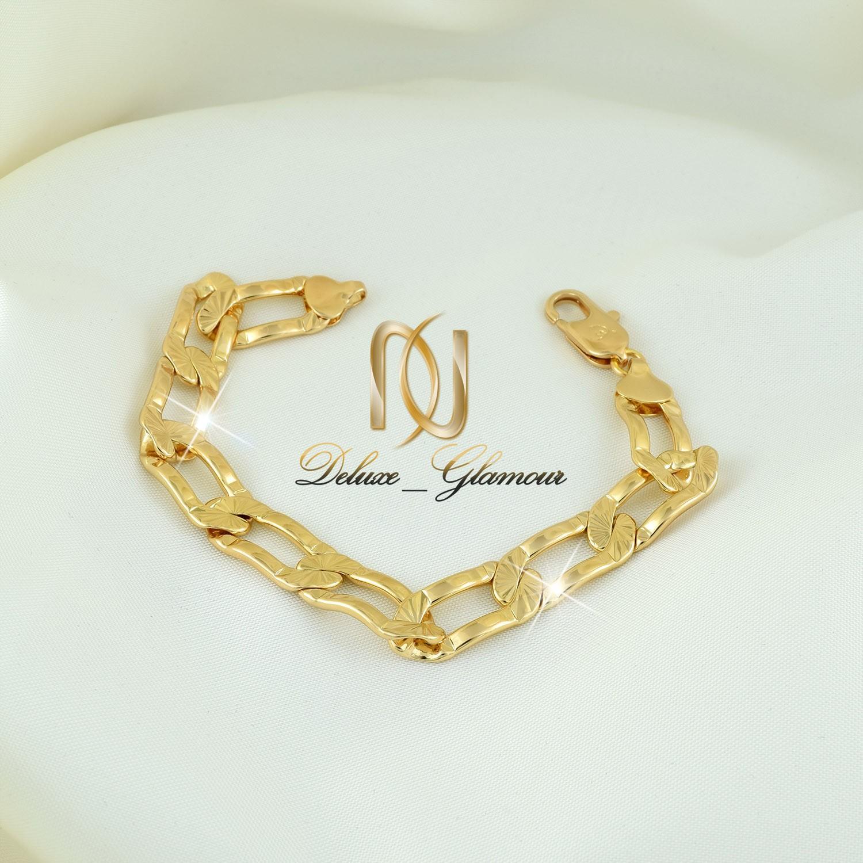 دستبند زنانه ژوپينگ طرح طلاي كارتيه DS-N260 از نماي روبرو