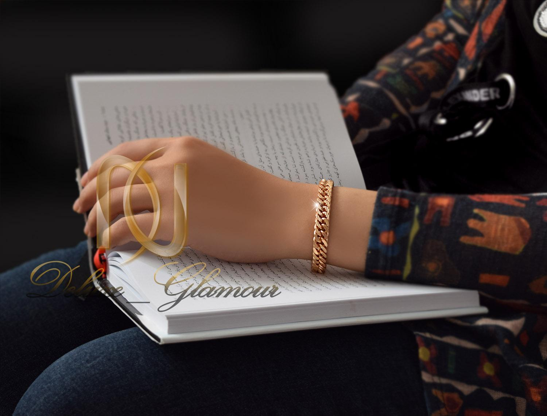 دستبند زنانه ژوپینگ طرح طلای زنجیری ds-n274