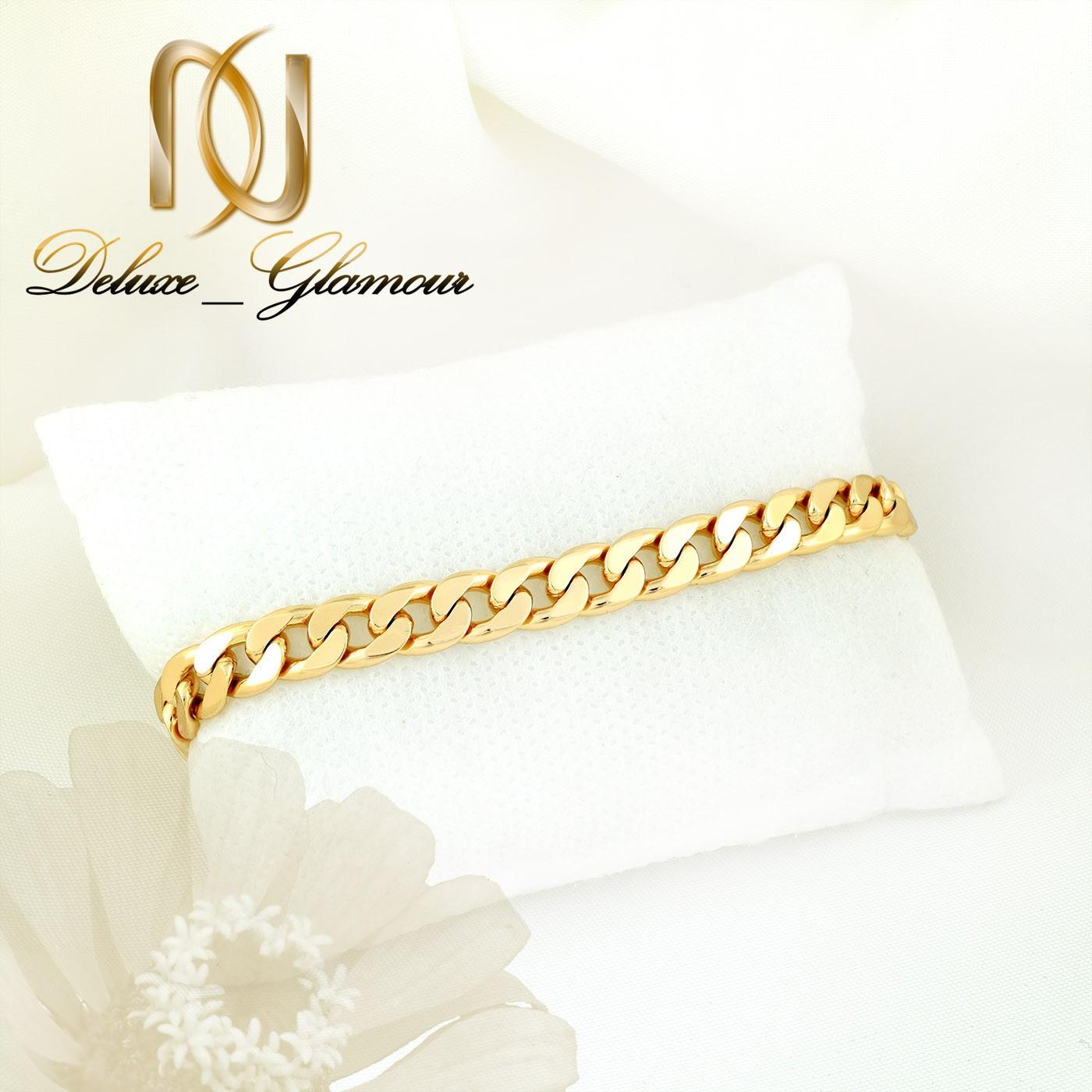 دستبند زنانه ژوپینگ طرح طلای 22 سانتی ds-n264 از نمای سفید