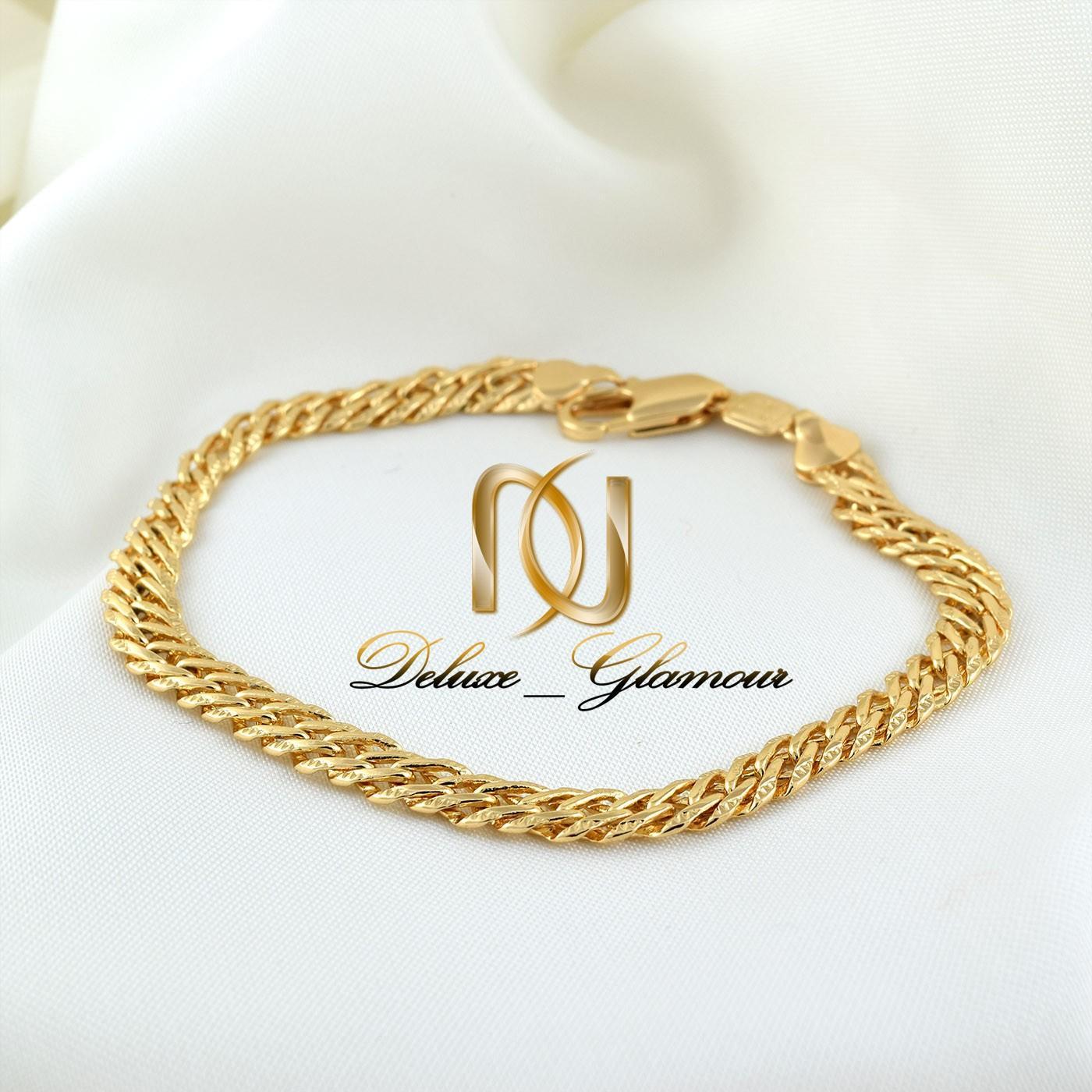 دستبند زنانه ژوپینگ طرح طلا با طول 22 سانتی ds-n266