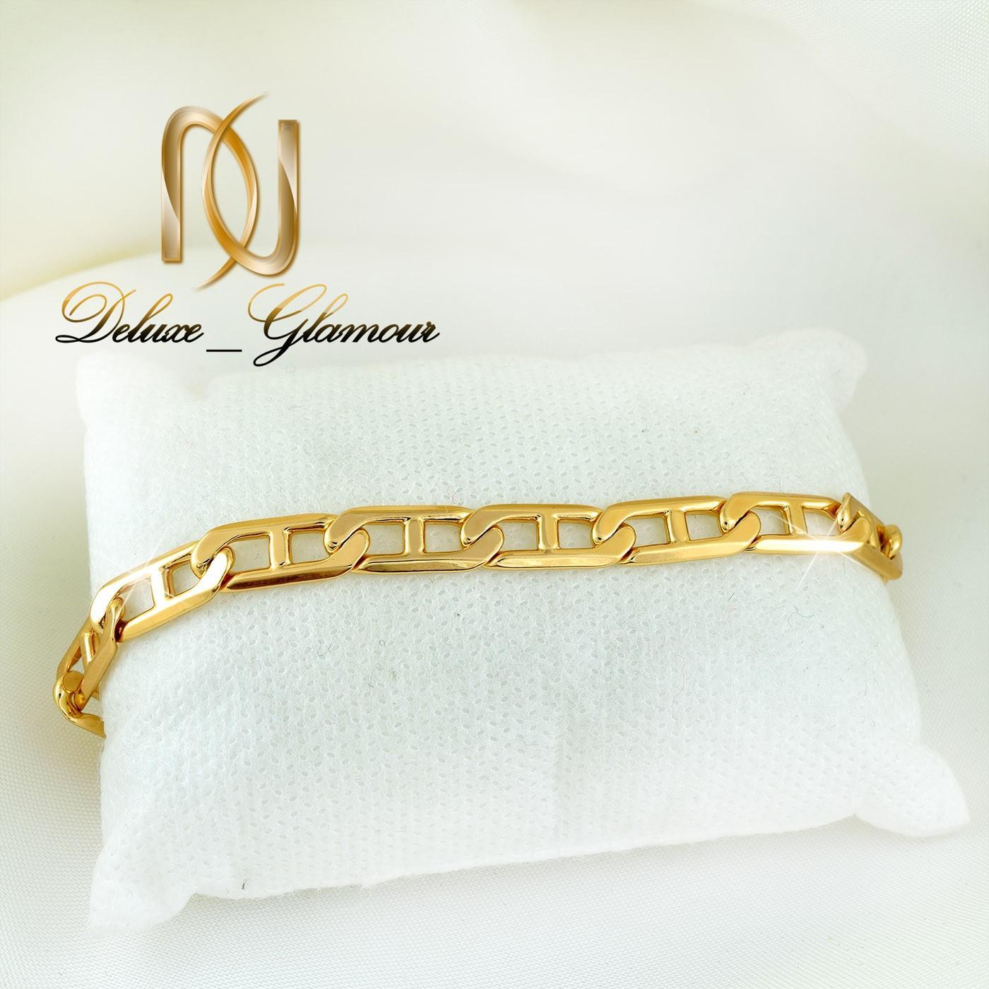 دستبند زنانه ژوپینگ طلایی طرح کارتیه ds-n263