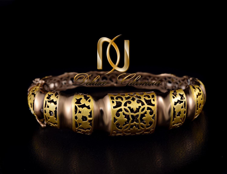 دستبند زنانه نقره پرستیژ دو رنگ ds-n294