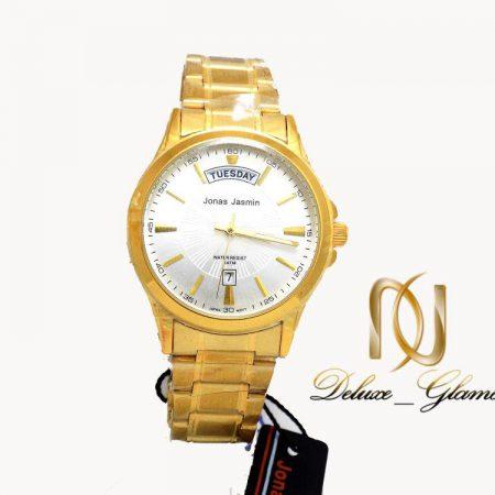ساعت مچي مردانه jonas jasmin طلايي wh-n111