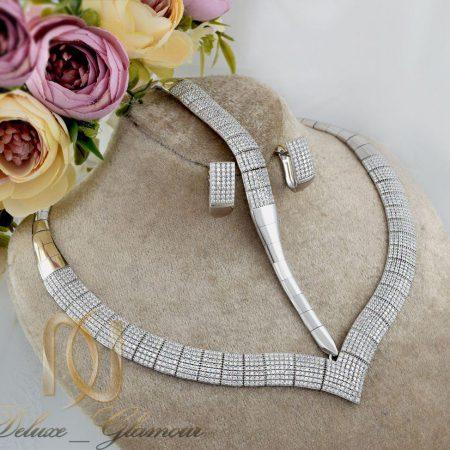 سرویس نقره عروس جواهری طرح تنیسی ns-n230 از نمای نزدیک
