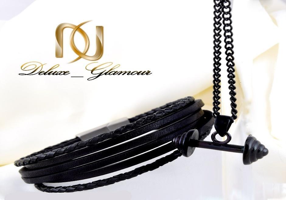 پیشنهادات و هدایای مخصوص روز مرد و پدر - ست گردنبند و دستبند مردانه