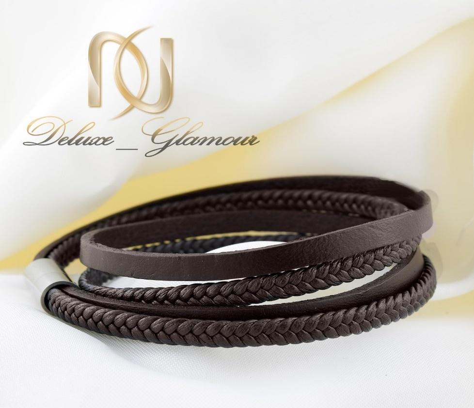 پیشنهادات و هدایای مخصوص روز مرد و پدر -دستبند چرم مردانه
