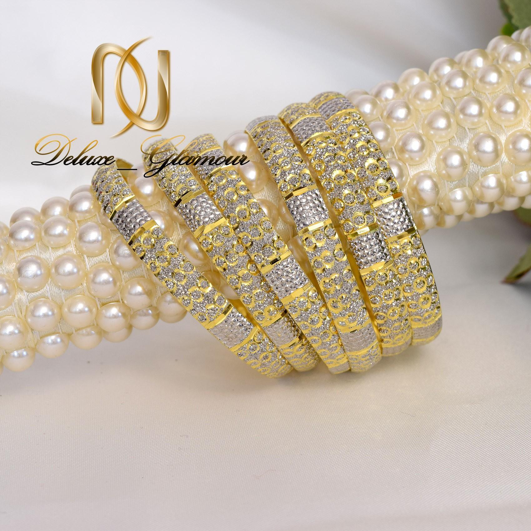 النگو نقره تراش طرح طلا al-n113 از نماي روبرو