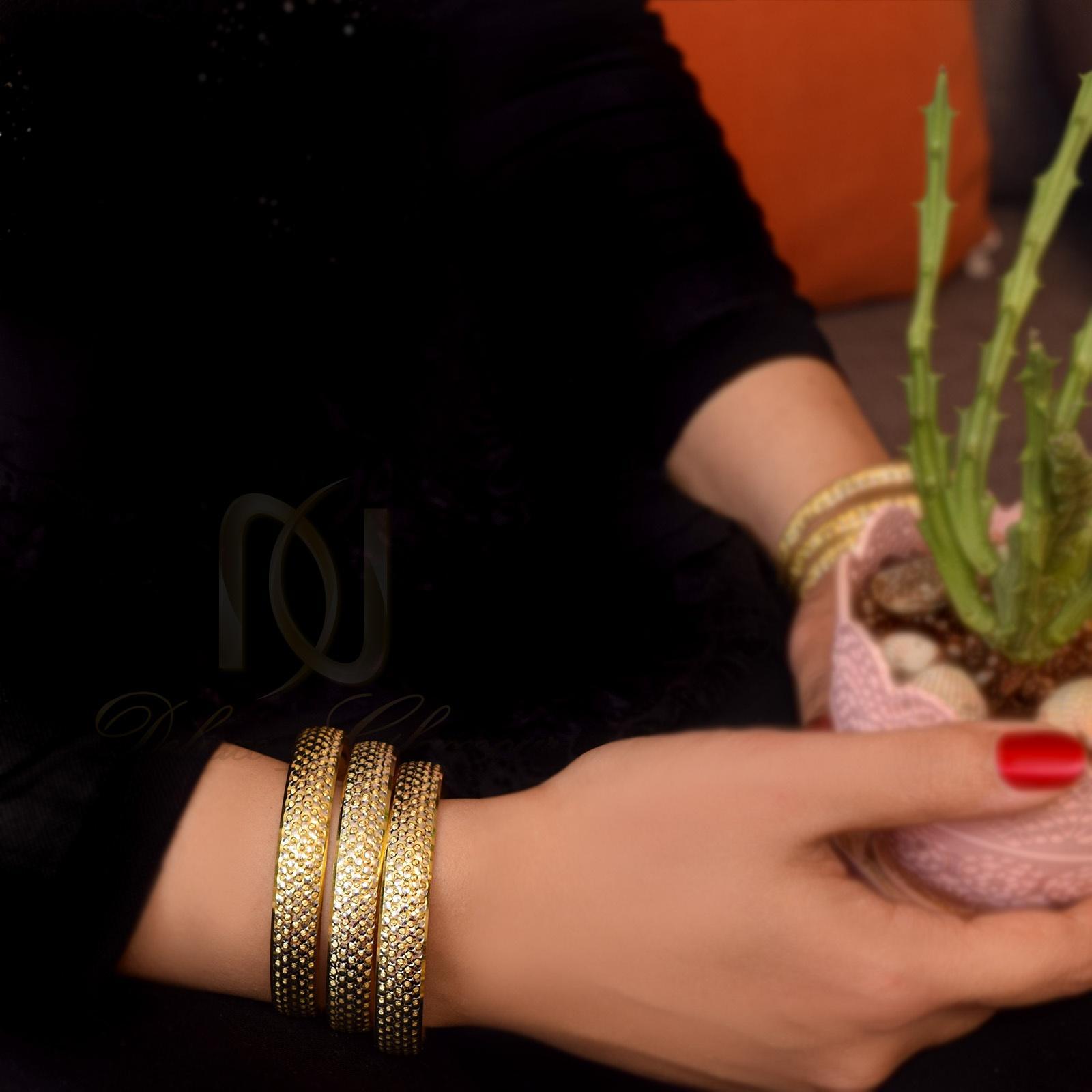 النگو نقره زنانه طرح طلا al-n109