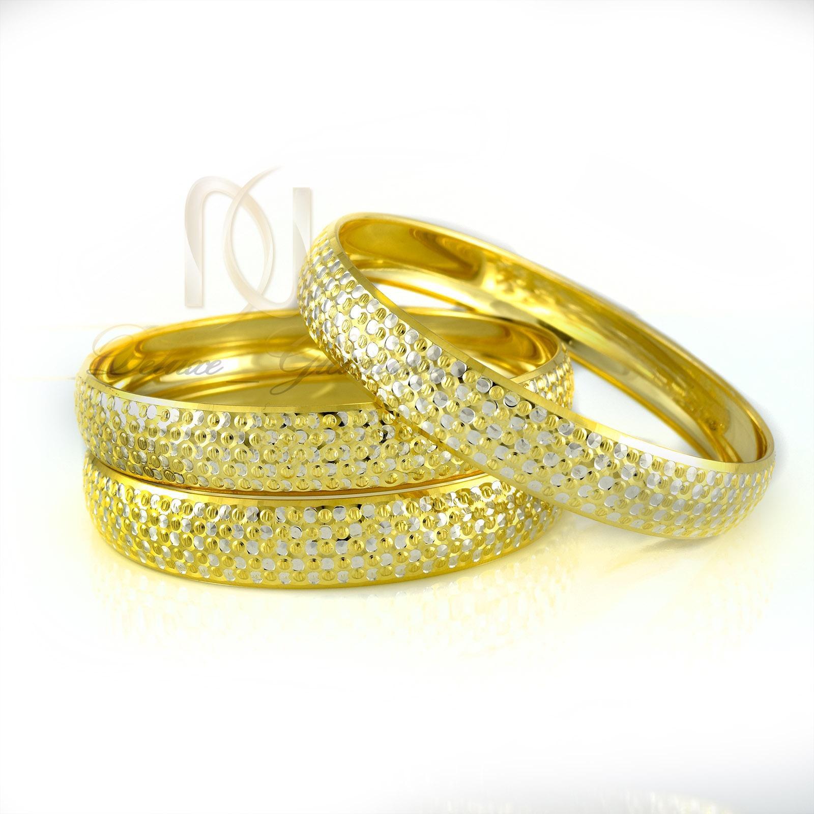 النگو نقره زنانه طرح طلا al-n109 از نماي سفيد