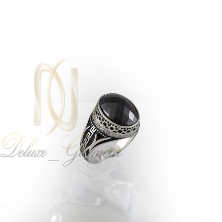 انگشتر نقره مردانه طرح ورساچه rg-n333