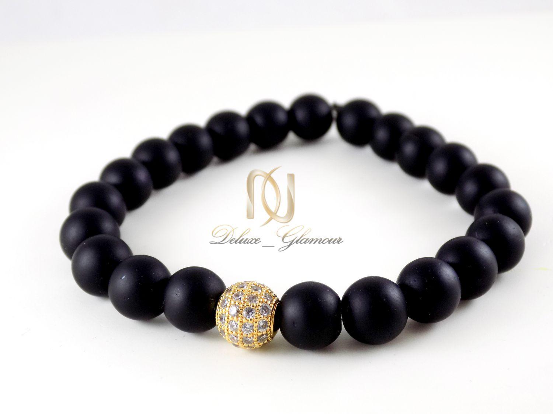 دستبند ست عاشقانه سنگ اونيكس DS-N302