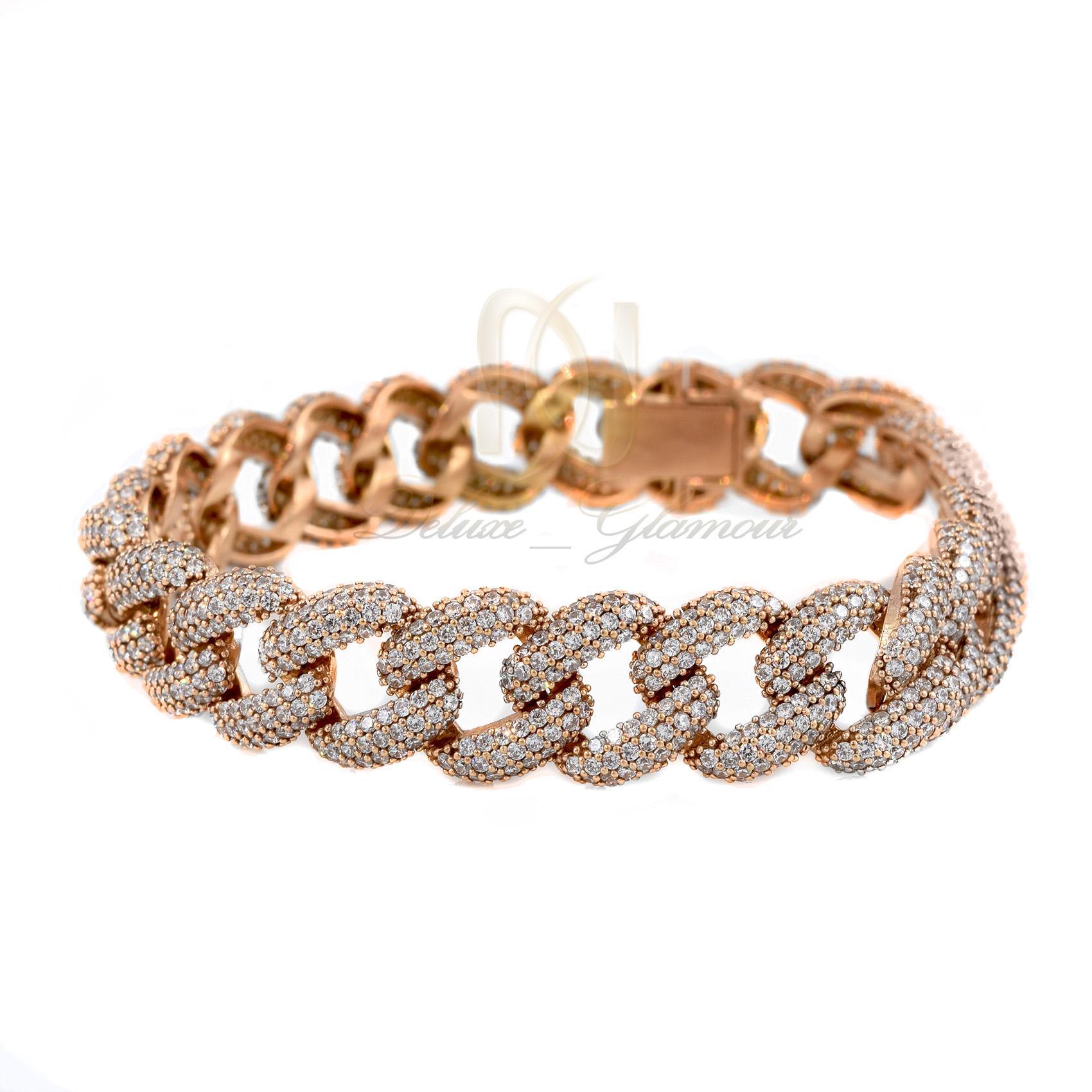 دستبند نقره زنانه رزگلد کارتیه Ds-n308 (1)