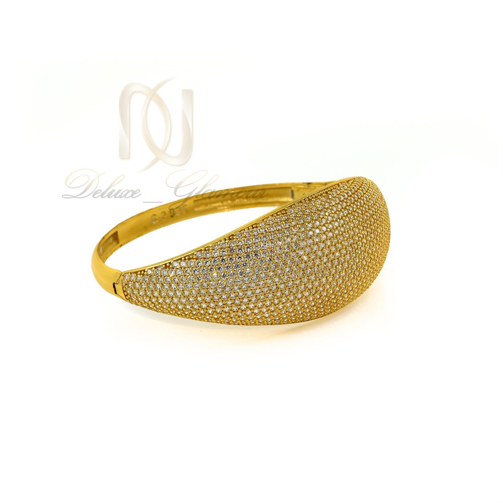 دستبند نقره زنانه طرح پرنسس ds-n305