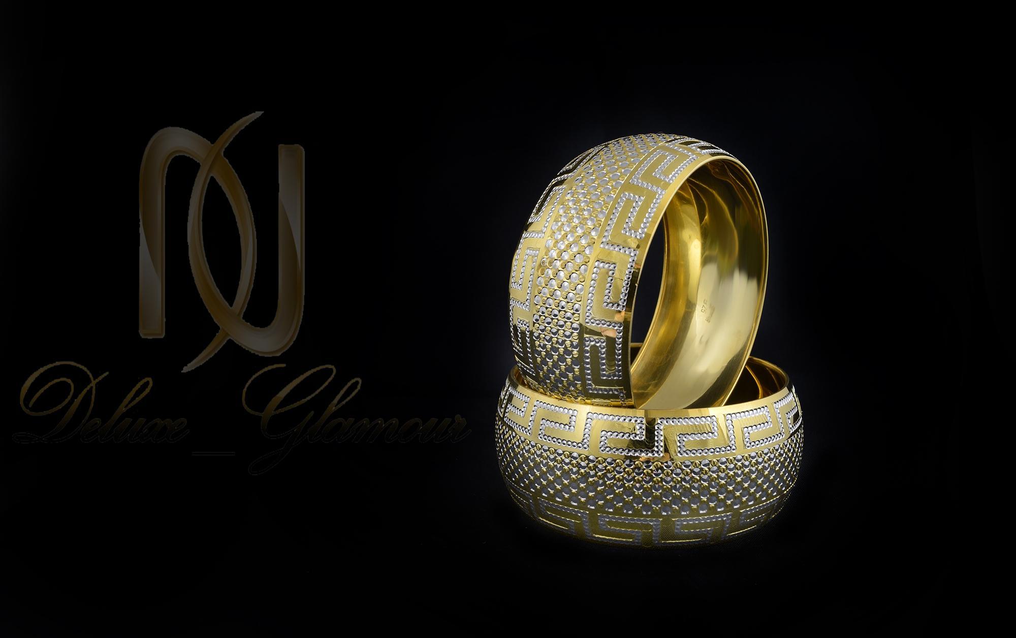 النگو تك پوش نقره طرح طلا al-n114