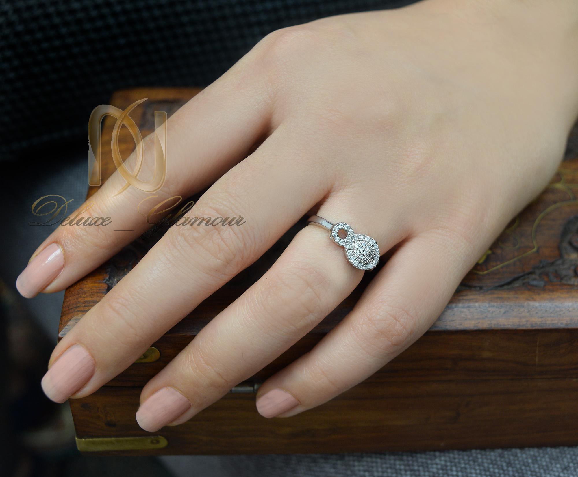 انگشتر نقره دخترانه طرح بی نهایت rg-n260