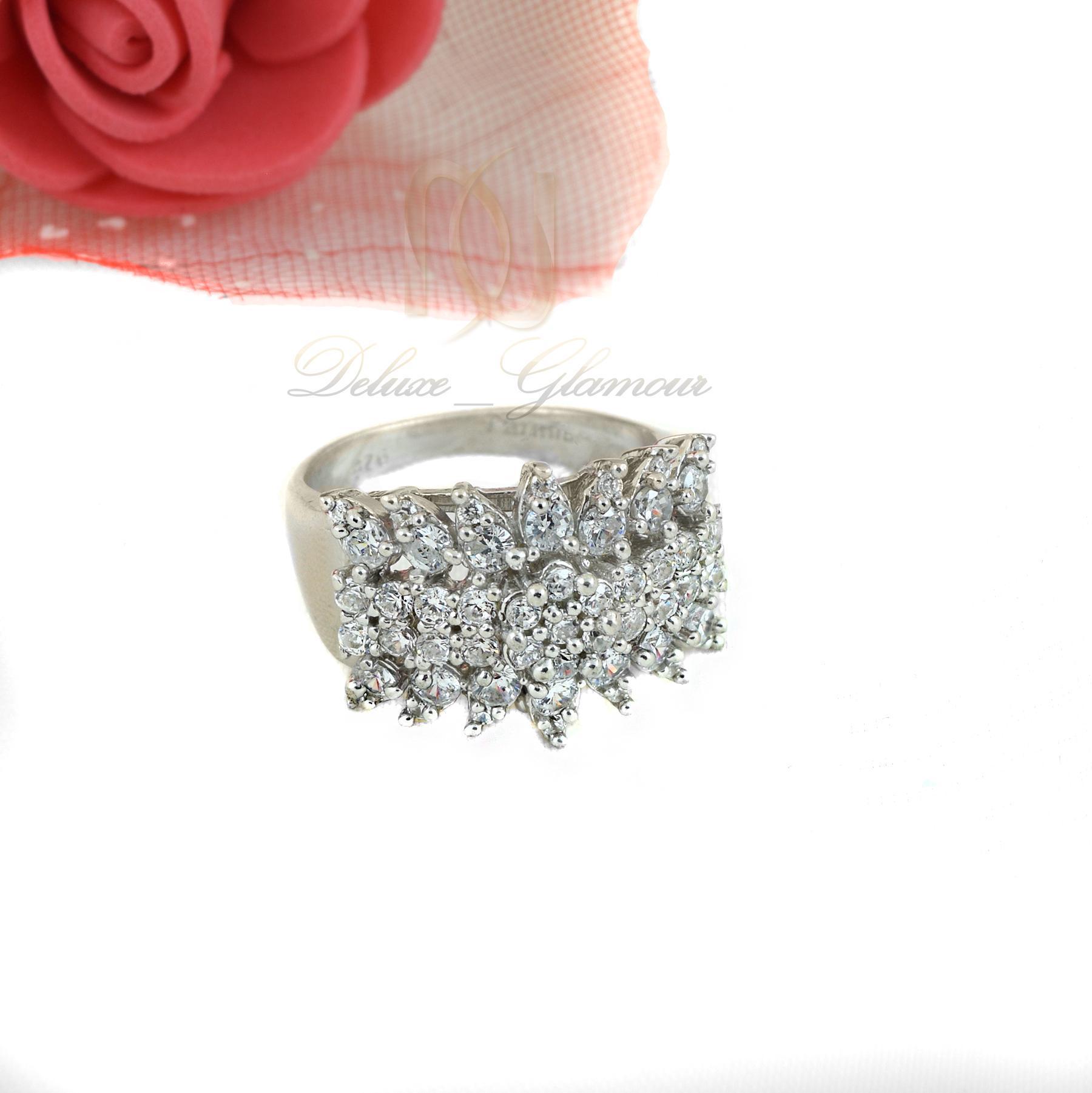 انگشتر نقره زنانه پرنگين rg-n340