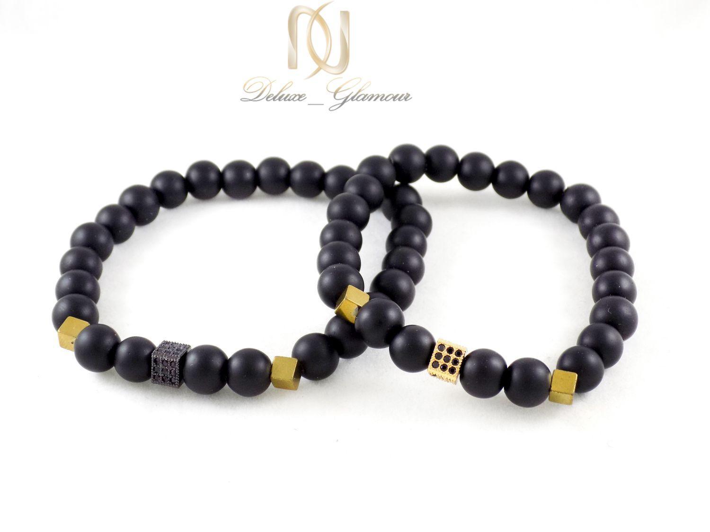 دستبند ست سنگی دخترانه و پسرانه ds-n312 از نمای بالا