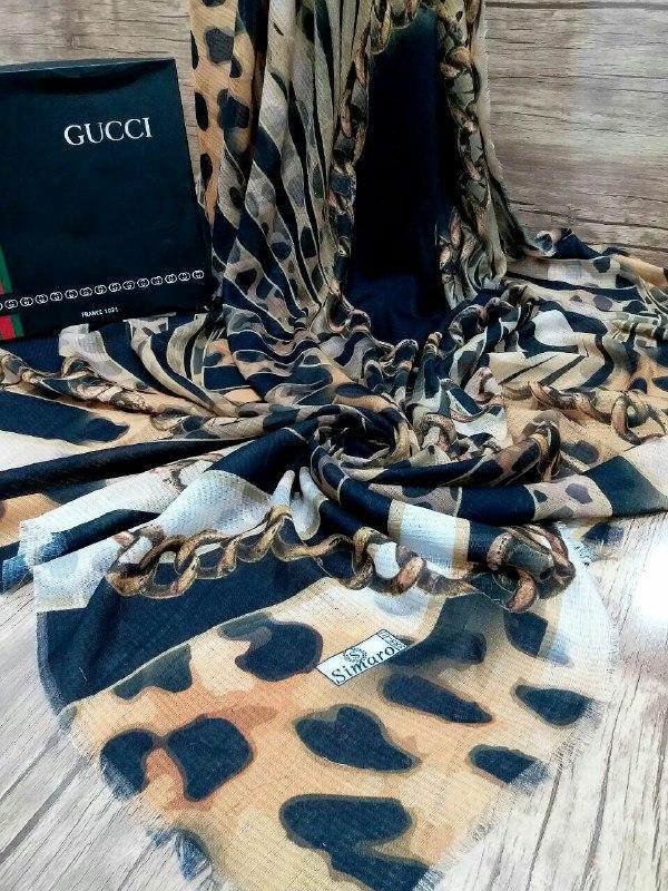 روسری نخی ریش سوزنی پاییزه sr-n180 از نمای نزدیک