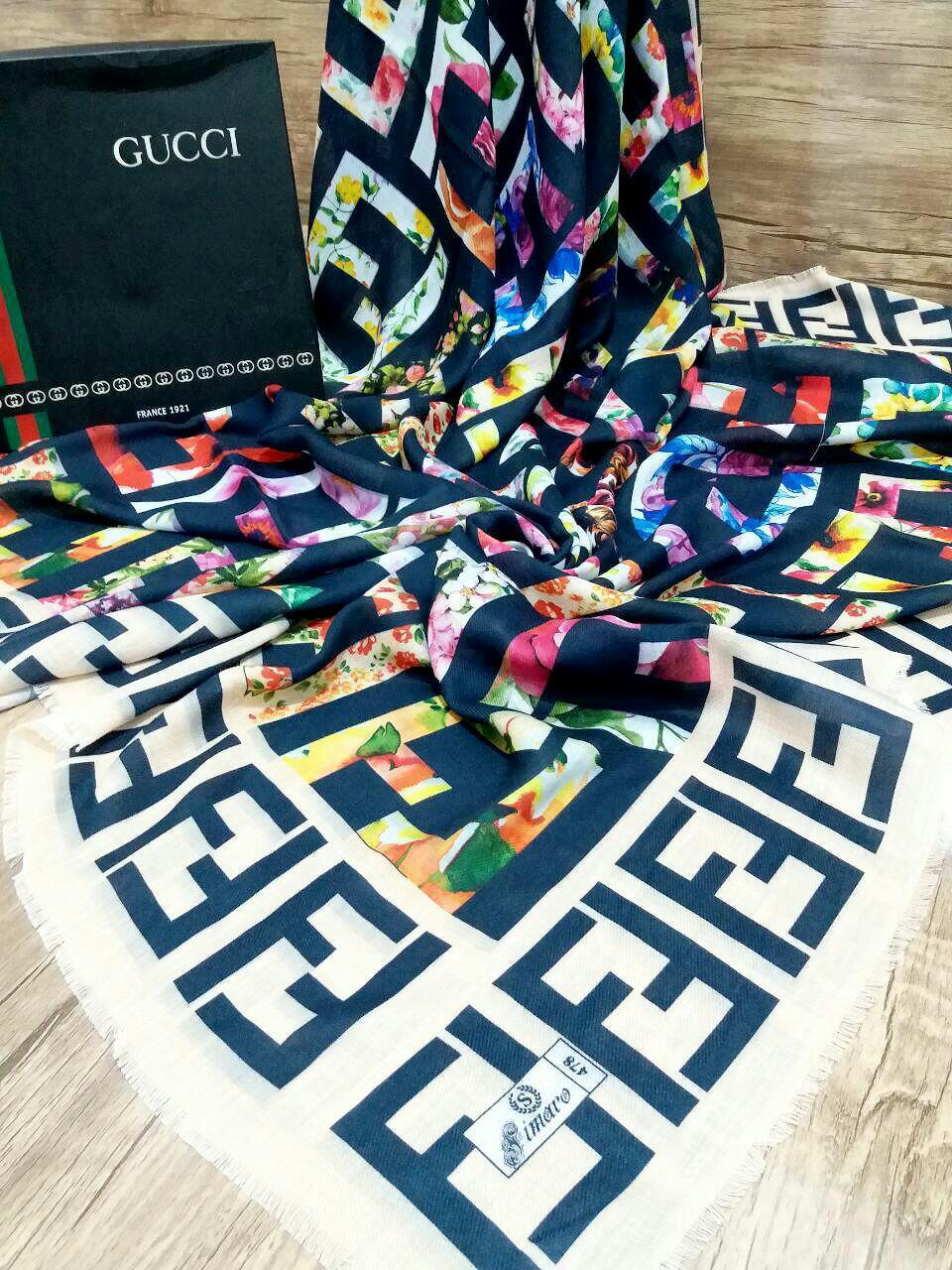 روسری نخی پاییزه پایین ریشه سوزنی sr-n194